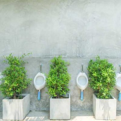 Public Urinals are Getting an Eco-friendly Makeover